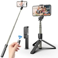 Selfie Monopods Extendable Stick Monopod Tripod Bluetooth Remote Shutter Universal Camera Dock Mobile Phone Stands For All Cell