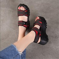 Sandals 2021 Korean Style Summer Platform Women's Wedge Casual Sports Shoes For Women