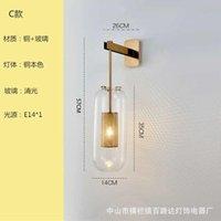 Modern LED Ahşap Aplike Luz Pared Abajur Duvar Işık Lampada Kamera Espelho Oturma Odası Lambası