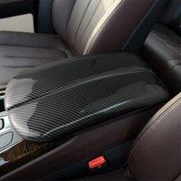 Auto Styling-Aufkleber für BMW X5 x6 x7 E70 E71 F15 F16 G05 G06 G07 Kohlefaser-Stauraum Aufbereiten Armlehnenbox Schutzabdeckungen Trim Auto Inneneinrichtungen