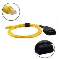 كابل أدوات التشخيص ل Enet Ethernet إلى OBD E-SYS ICOM الترميز F-Serie 2021 Esys Data