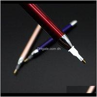 소모품 LED 페인팅 자수 포인트 드릴 펜 5D DIY 모조 다이아몬드 그림 조명 다이아몬드 펜 OWB1460 GUD6V 2dwky