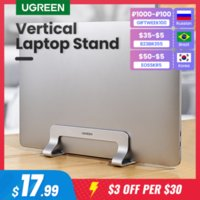 Vertical Laptop Stand Holder For MacBook Air Pro Aluminum Foldable Notebook Stand Computer Laptop Support Tablet Stand