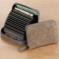 Card Holders Wallet Bag Men's Women's Small Multifunctional Large Capacity Purse Carteira Masculina