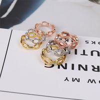 Небо Звездный свиночный нос кольцо бриллиантов без сверла два стиля 3 цвета простота модные кольца