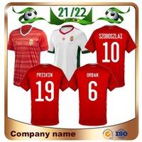 2020 European Hongrie Soccer Jersey 19/20 Accueil Rouge Dominik Szoboszlai Willi Orban Tamás Kádár Chemise de football National TeamFootball Uniforme