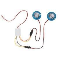 비상 조명 2 PC / 세트 자동차 오토바이 고전력 LED 장식 스트로브 플래시 브레이크 테일 빛 N84F
