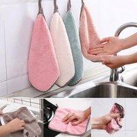 أدوات المطبخ المنزلية أدوات ستوكات منشفة تنظيف القماش غير عصا النفط سميكة تنظيف القماش يمكن أن تمتص الغسيل