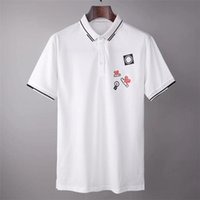 Tee-t-shirt Polos de la marque Polos Design Shirt Summer Street Weanger Europe Mode Hommes Haute Qualité Coton Tshirt Casual Sleeve Casual # 691