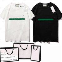 Erkekler T-shirt Geometrik Desen Yaz Rahat Tee Moda Ins Tarzı Üst Streetwear Gevşek Yüksek Kaliteli Spor Hip-Hop Olgun Trendy T Shirt