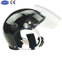 Radfahrenhelme Hochwertiger Paramotor-Helm nur mit Visier und Teil, um Headset zu installieren