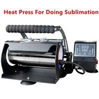 Atacado! Sublimação Impressora de imprensa de calor de usinagem para 20oz 30oz 12oz skinny hack tumber 110V 3 furo plug transferência de pressão de pressão A12