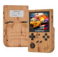 """ANBERNIC Newest RG351V Retro Game Console RK3326 Handheld Game Player 3.5"""" Built In WiFi Games Emulators for PS1 N64 Linux System"""