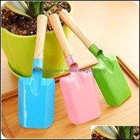 Home & Gardenmini Gardening Colorf Metal Small Shovel Hardware Digging Garden Tools Kids Spade Tool Hwe4625 Drop Delivery 2021 Mwd5X