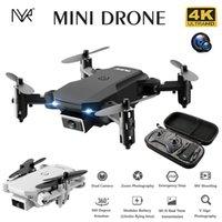 S66 Mini RC Drohne 4k HD Kamera Drohnen Luftbild Hubschrauber Gravity Induktion Falten Quadcopter FPV Drohne Junge Spielzeug A0510