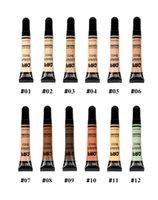12 لونا ماكياج الأساس العزلة السائل يضيء المحمولة طويلة الأمد غير متلاخ أنبوب المخفي مستحضرات التجميل الوجه التمهيدي 10 جرام