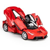1:32 سبيكة supercar دييكاست نموذج سيارة التراجع لعبة سيارة الإلكترونية الكلاسيكية الاطفال اللعب