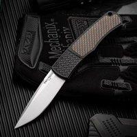 Protech Yüksek Sertlik Katlanır Bıçak 154-cm Bıçak Açık Kamp Emniyet Cep Bıçaklar Taşınabilir EDC Aracı HW596