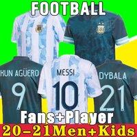 아르헨티나 축구 유니폼 2021 Copa America Messi Dybala Aguero 축구 셔츠 1978 1986 Maradona 홈 레트로 1981 Boca Juniors 87 88 나폴리 나폴리