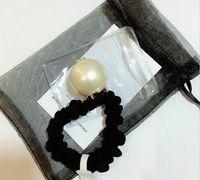 スーパー良い品質C手紙、手作り3cmの大きな真珠の頭のロープ、ティーゴムヘッドドレス、パーティーの贈り物