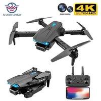 Sharefunbay S89 Pro RC Mini Drone 4K PRESSENALION HD Dual Camera FPV Дроны с камерой HD 4K RC вертолеты Quadcopter игрушки 210915