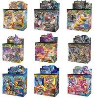 324 stücke Pokmon-Karten TCG XY Evolutions Booster-Display-Box (36 Packungen) Spiel Kids Kollektion Spielzeug Geschenkkarte Spielbrettspiel