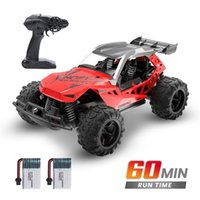 Deerc 1:22 Racing RC Rock Rock Crawler Control Truck 60 minutos Tempo de jogar 20 km / h 2.4 Ghz Drift Buggy Brinquedo para crianças 210915