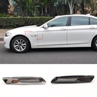 2Pcs LED Car Front Side Marker Blinker Lights For BMW 1 3 5 Series E81 E82 E87 E88 F30 E90 E91 E92 E93 E46 E60 E61