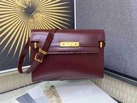 غطاء حقيبة جديد مصمم جديد مانهاتن باغيت جودة فاخرة عالية الجودة رفرف اليدين نوع الأعمال السيدات أزياء أعلى حقيبة يد واحدة المرأة