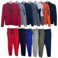 Tech Fleece tracksuit Mens Sports sportswear Pants Hoodies Jackets Space Cotton Trousers Womens Bottoms joggers Man Running jacket High Quality Muti Colors m T1Kg#