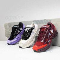 패션 신발 원본 Raf Simons Ozweego III 스포츠 남자 여성 Clunky 금속 실버 스니커즈 Dorky 캐주얼 신발 크기 36-45 G6RV #