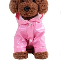 Dog Apparel Dogs Soft Breathable Mesh Pet Clothes Reflective Puppy Rain Coat Cat Raincoat Hooded Waterproof Jacket Products
