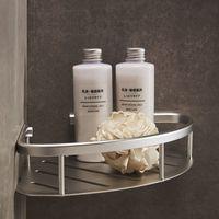 رفوف الحمام الفضاء الألومنيوم دش غرفة الزاوية سلة عالية الجودة المواد مبيعات المصنع مباشرة