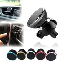 Newest Strong Magnetic Car Air Vent Mount 360 Degree Rotation Universal Phone Holder With Package For MobilePhone