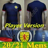 Jogador Versão Escócia Scotland Jersey 2021 2022 Tierney Robertson McTominay Camisa de futebol Christie McGregor McGinn Homens Crianças Uniforme Casa Away Kits Camesitas
