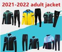 2021-2022 Napoli Tracksuit Hamsik insigne Callejon Zielinski SSC 나폴리 긴 지퍼 자켓 세트 축구 가슴 슈트