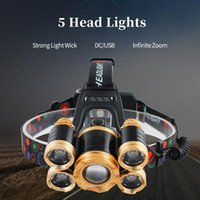 Headlamps Home Led Sensor Head Portable 4 Modes Torches Durable Waterproof Super Power Night Riding Outdoor Activities Supplies