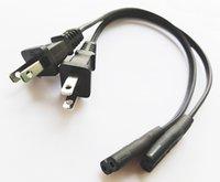 USA 2PIN Мужская пробка для разъема IEC 320 C7 для цифровой камеры, NEMA 1-15P Travel Power Cable / 4 шт.