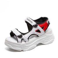 Стиль Rome Sandals Fairy All-Match Platform Губка Торт I Супер Огонь Бич Обувь Мода Женский 210619