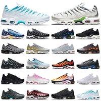 hotsale tn plus running shoes men women Black White Pink Psychic Blue Fury Digital Camo Orange Gradient Grey Neon Green outdoor sports trainers sneakers mens womens