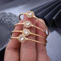 4pcs lot Trendy Dubai Ethiopian Gold Color Baby Bangles For Girls Child African Arab Ramadan Bracelet Jewelry Bangle
