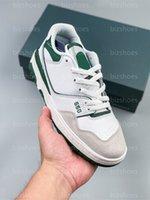 BB550 스포츠 신발 화이트 네이비 그린 유니섹스 야외 스니커즈 새로운 550 러닝 신발 스케이트 트레이너