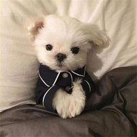 작은 중형 개를위한 개 패션 개 잠옷 애완 동물 의류를위한 럭셔리 옷 COTOR YORKIES CHIHUAHUA Bulldogs Jacket 442 V2