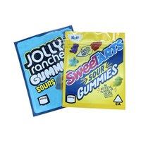 Jolly Rancher Sours Sour SweetArts Gummies Borsa da imballaggio in plastica 420 Pacchetto commestibile 600mg Candy Gummy Edibles Proofuoia odore