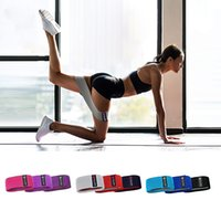 Portable Workout Fitness Hip Loop Resistance Bands Anti-slip Squats Expander Strength Rubber Band Yoga Stretch Gym Training Braided Elastic