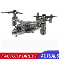 Creative Remote Control Transport Airplane Fighter Building Block Model Kits Diy Rc Battle Plane Bricks Toys Gifts For Children