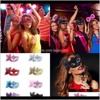 Est Women Sexy Venetian Masquerade Eye Fancy Ball Gown Costume Lace Masks Mysterious Party Butterfly Mask Wmtykd Nrnep Dtkx9