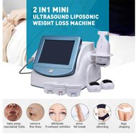 2020 Multifunction 2 IN 1 HIFU Liposonix Slimming Machine HIFU Face Lifting Wrinkle Removal Liposonix Fat Reduction Ultrasound machine #0221