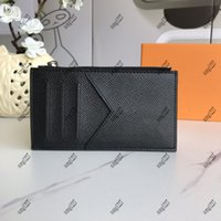 Luxurys 디자이너 가방 64 동전 지갑 038 C OIN Card 홀더는 천으로 만든 안전한 방법입니다.