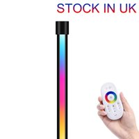 Untimaty Floor Lamp RGB LED Corner Novelty Lighting Color Changing Standing Lamps Dimmable Remote Super Bright Modern with Remotes Control 72 LEDs 16 Million Colors
